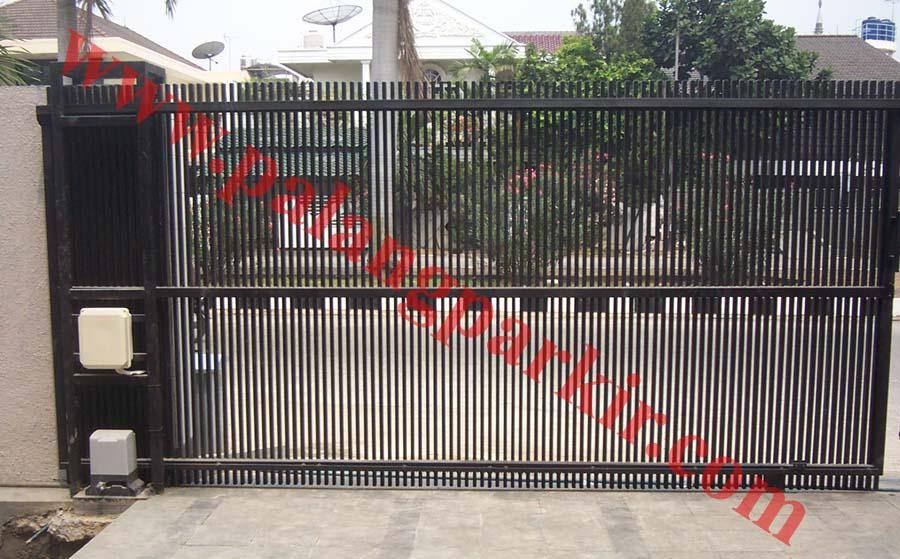 Pagar Pintu Pintu Pagar Lipat Railing Balkon Palang Parkir